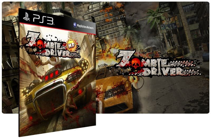 Banner do game Zombie Driver HD para PS3
