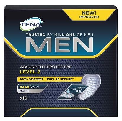 absorvente masculino tena