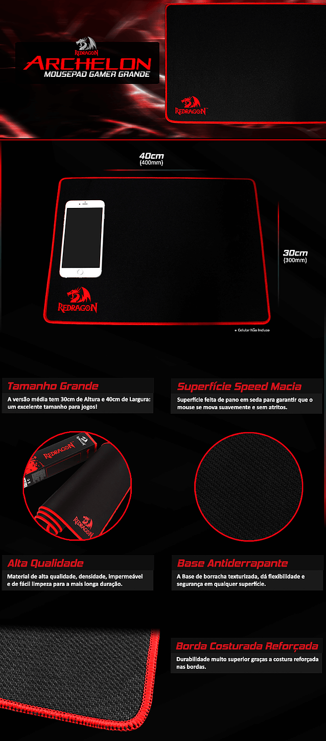mousepad-gamer-redragon-archelon-grande