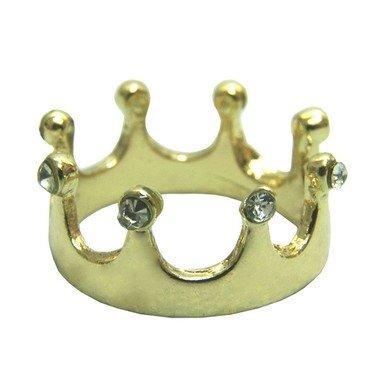 Anel de coroa strass