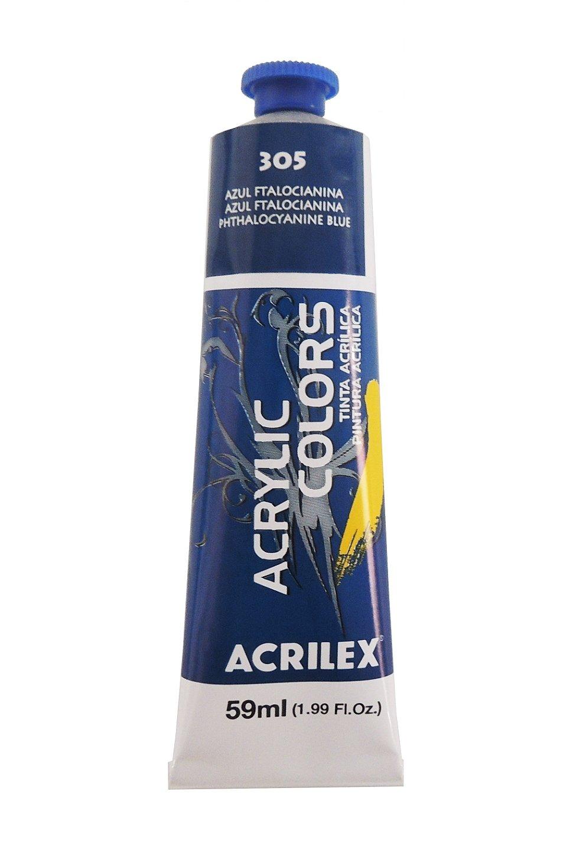 tinta-acrilica-acrilex-59ml-305-azul-ftalocianina
