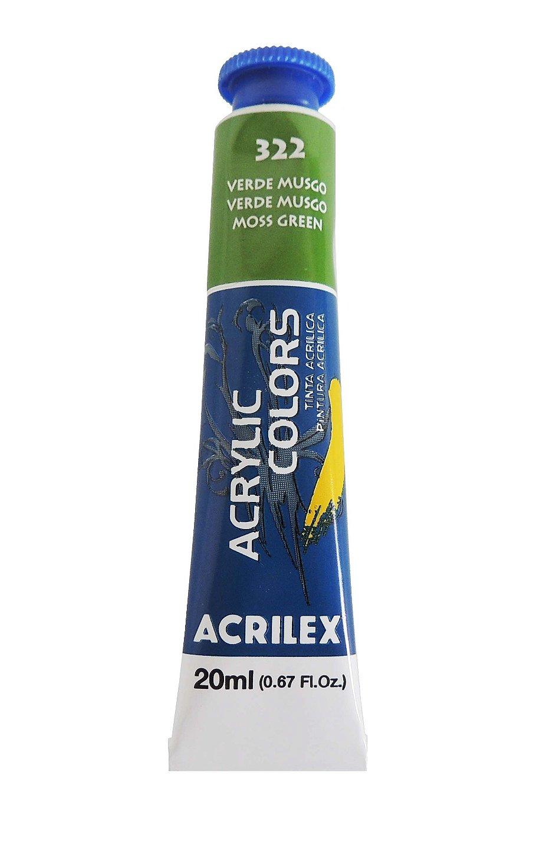 tinta-acrilica-20ml-322-verde-musgo