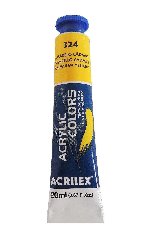 tinta-acrilica-20ml-324-amarelo-cadmio