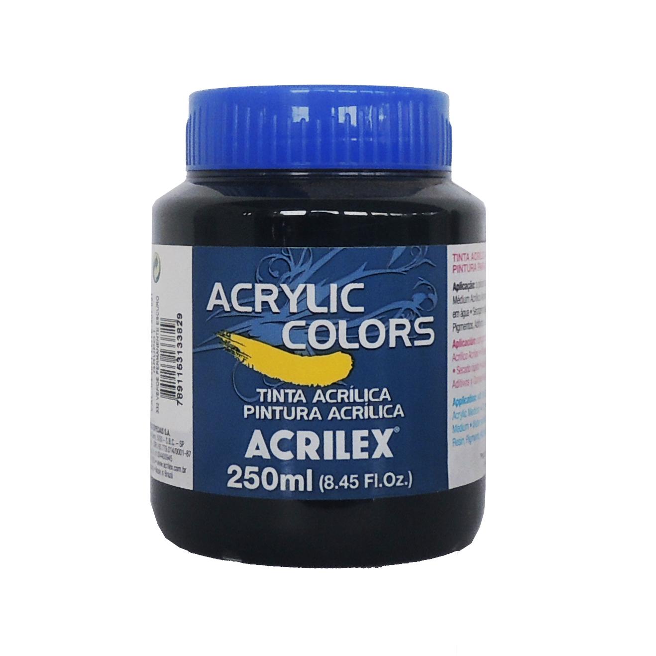 tinta-acrilica-acrilex-250ml-grupo-1-332-verde-permanente-escuro