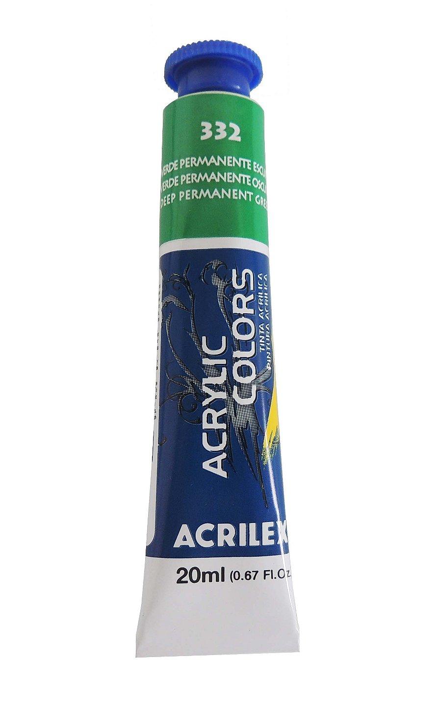 tinta-acrilica-20ml-332-verde-permanente-escuro