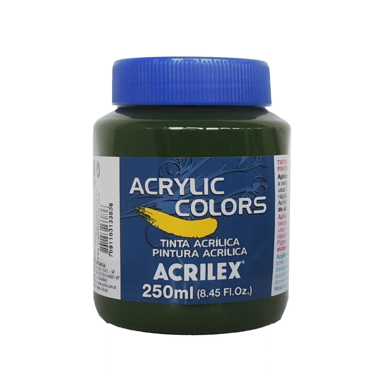 tinta-acrilica-acrilex-250ml-grupo-1-334-verde-oliva