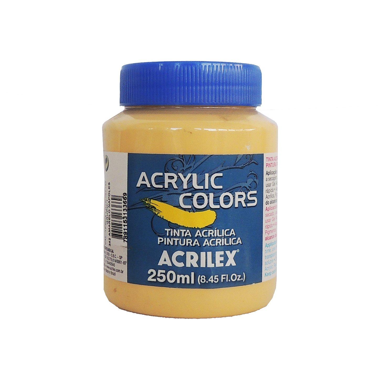 tinta-acrilica-acrilex-250ml-grupo-1-342-amarelo-napoles