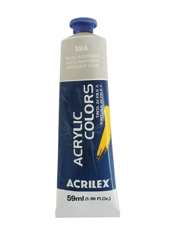 tinta-acrilica-metalica-acrilex-59ml-386-prata-iridescente