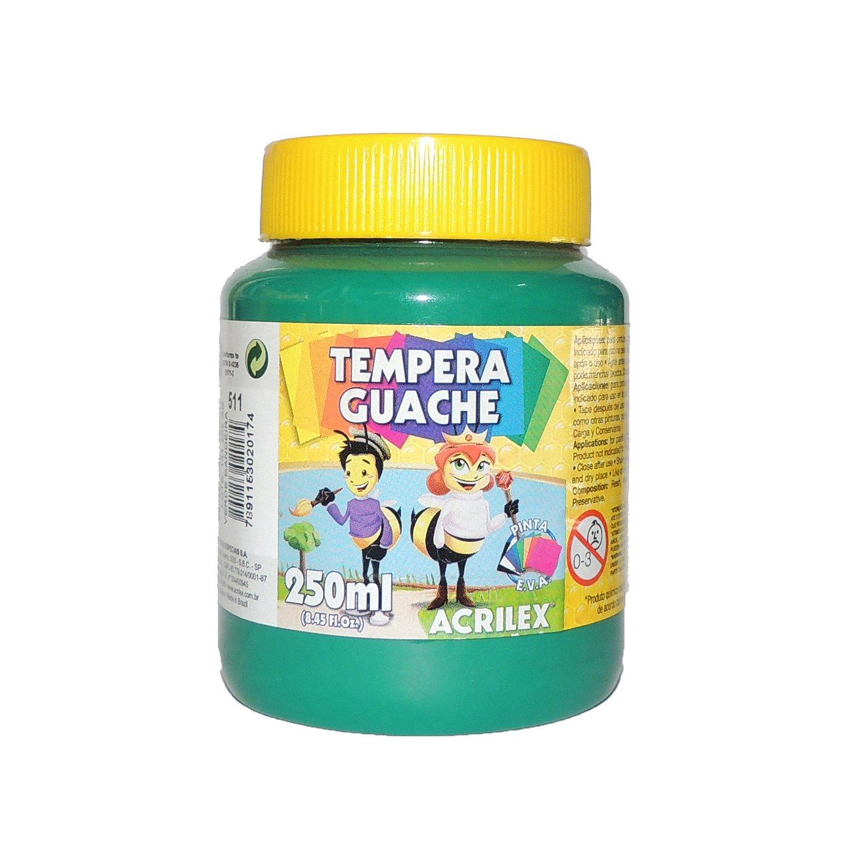 tempera-guache-250ml-511-verde-bandeira