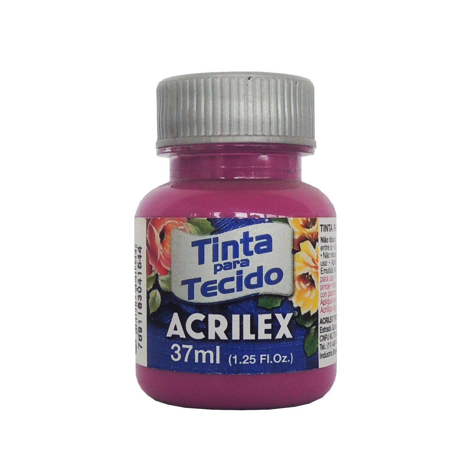 tinta-para-tecido-acrilex-250ml-549-magenta