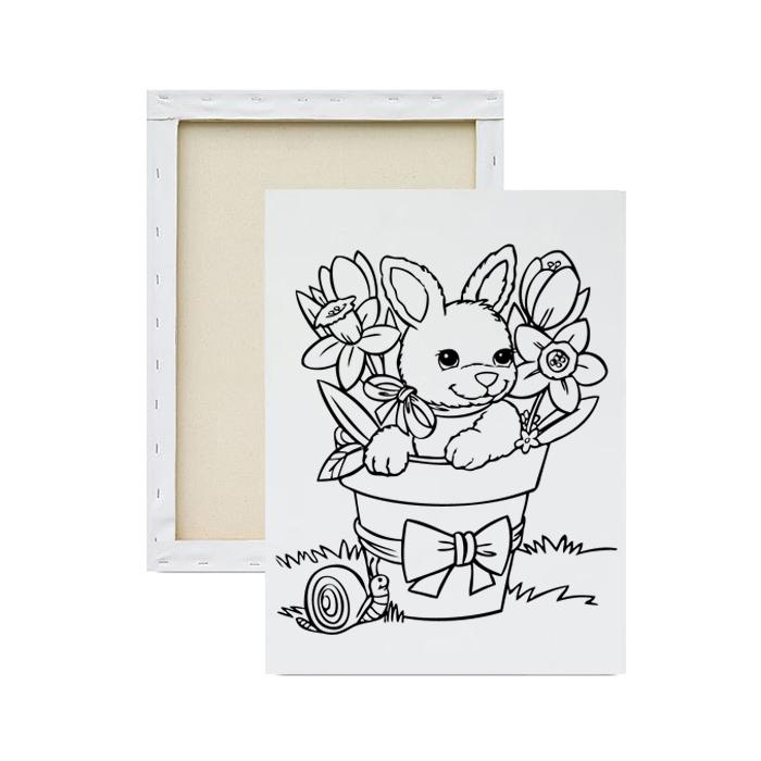 tela-para-pintura-infantil-coelho-da-pascoa-florido