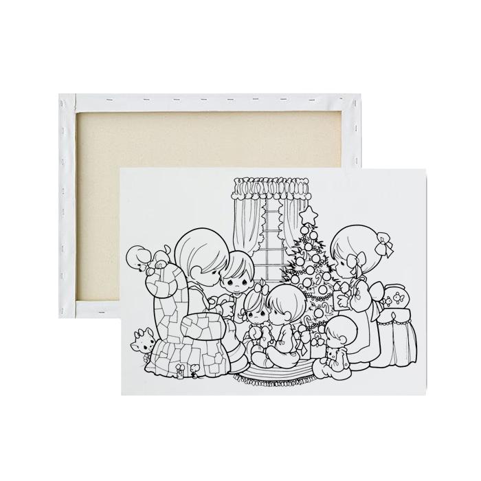 tela-para-pintura-infantil-familia-unida