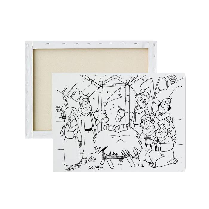tela-para-pintura-infantil-nascimento-de-jesus