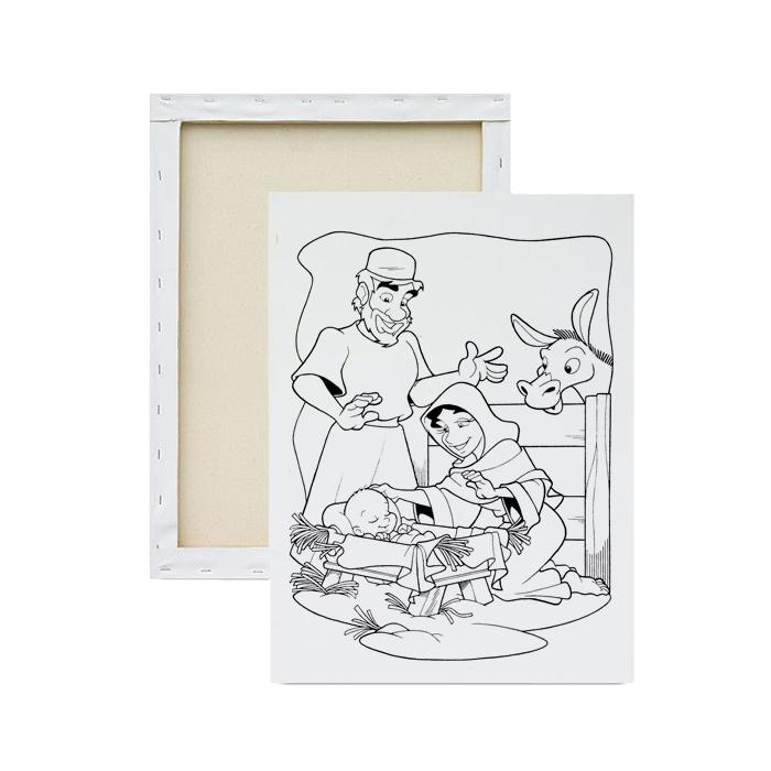 tela-para-pintura-infantil-presepio