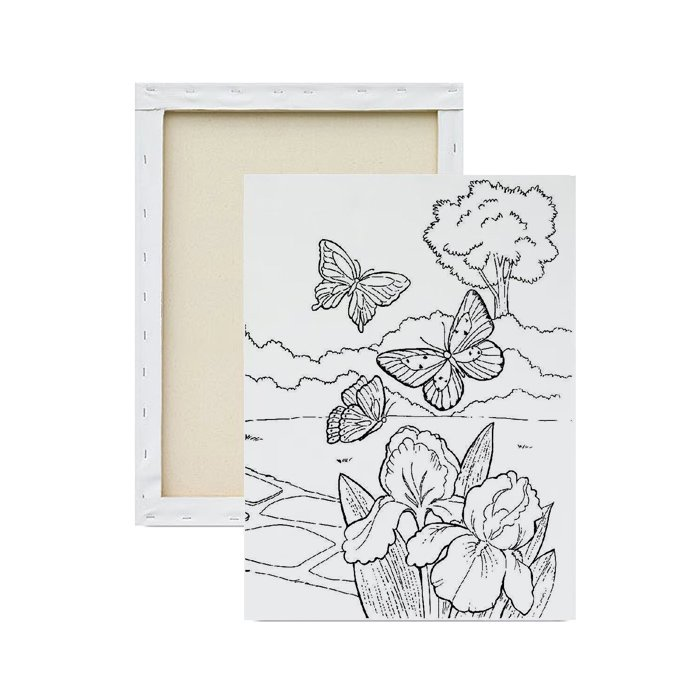 tela-para-pintura-infantil-borboletas