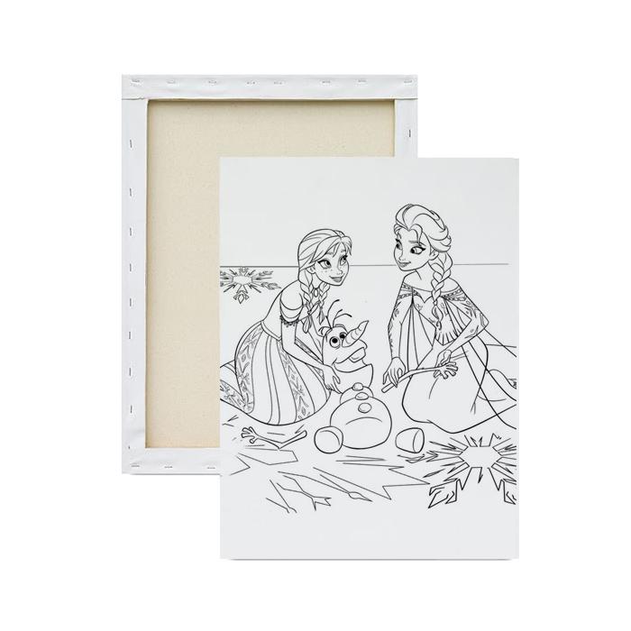 Tela-para-pintura-infantil-elsa-e-anna
