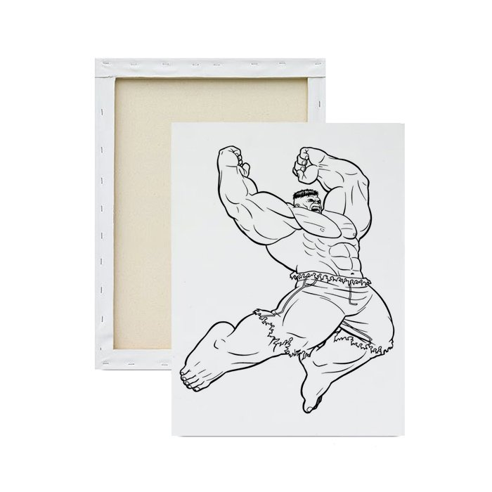 Tela-para-pintura-infantil-hulk