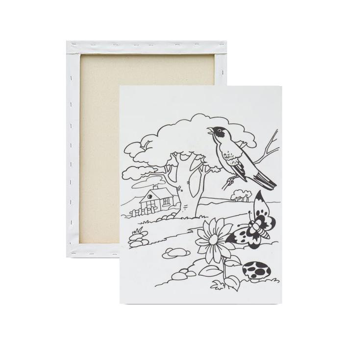 tela-para-pintura-infantil-passarinho