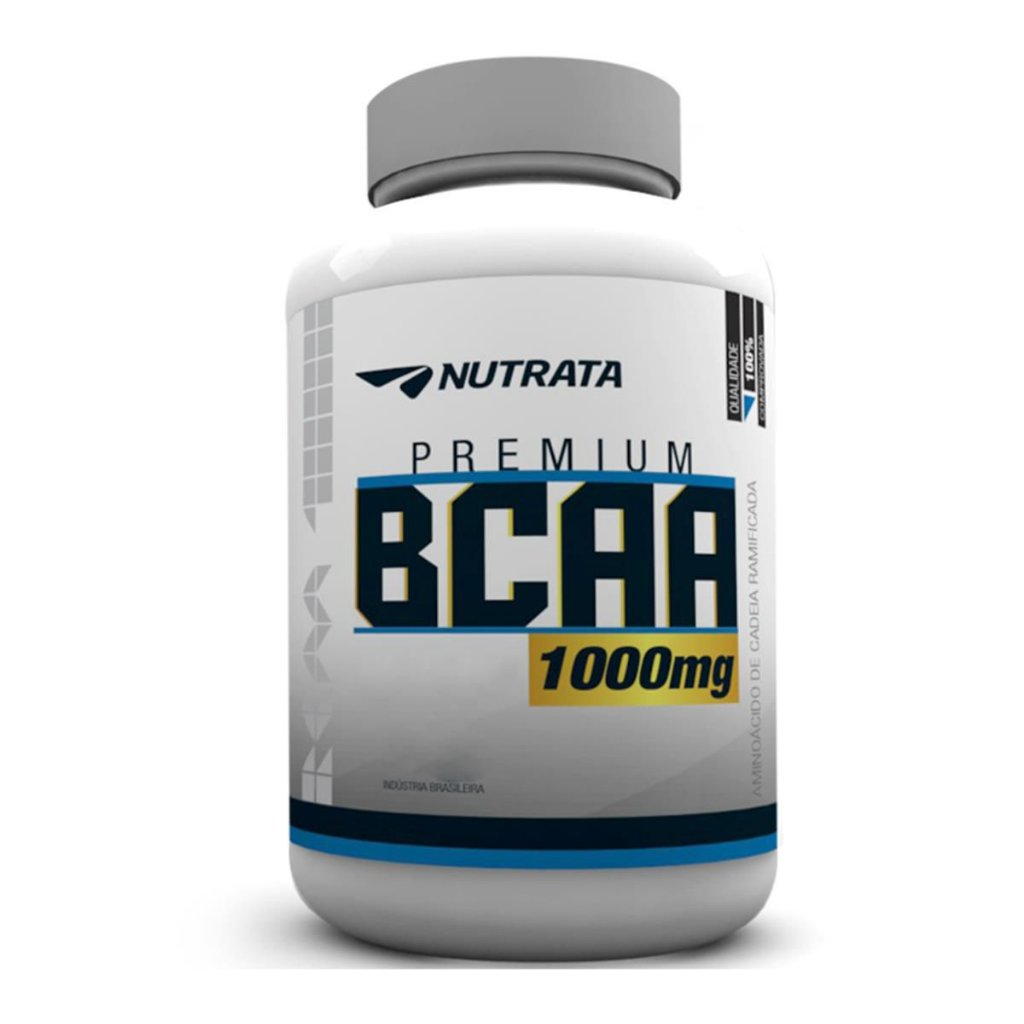 5818f3611 BCAA Premium 1000mg (60 Tabs) Nutrata - Barato Suplementos