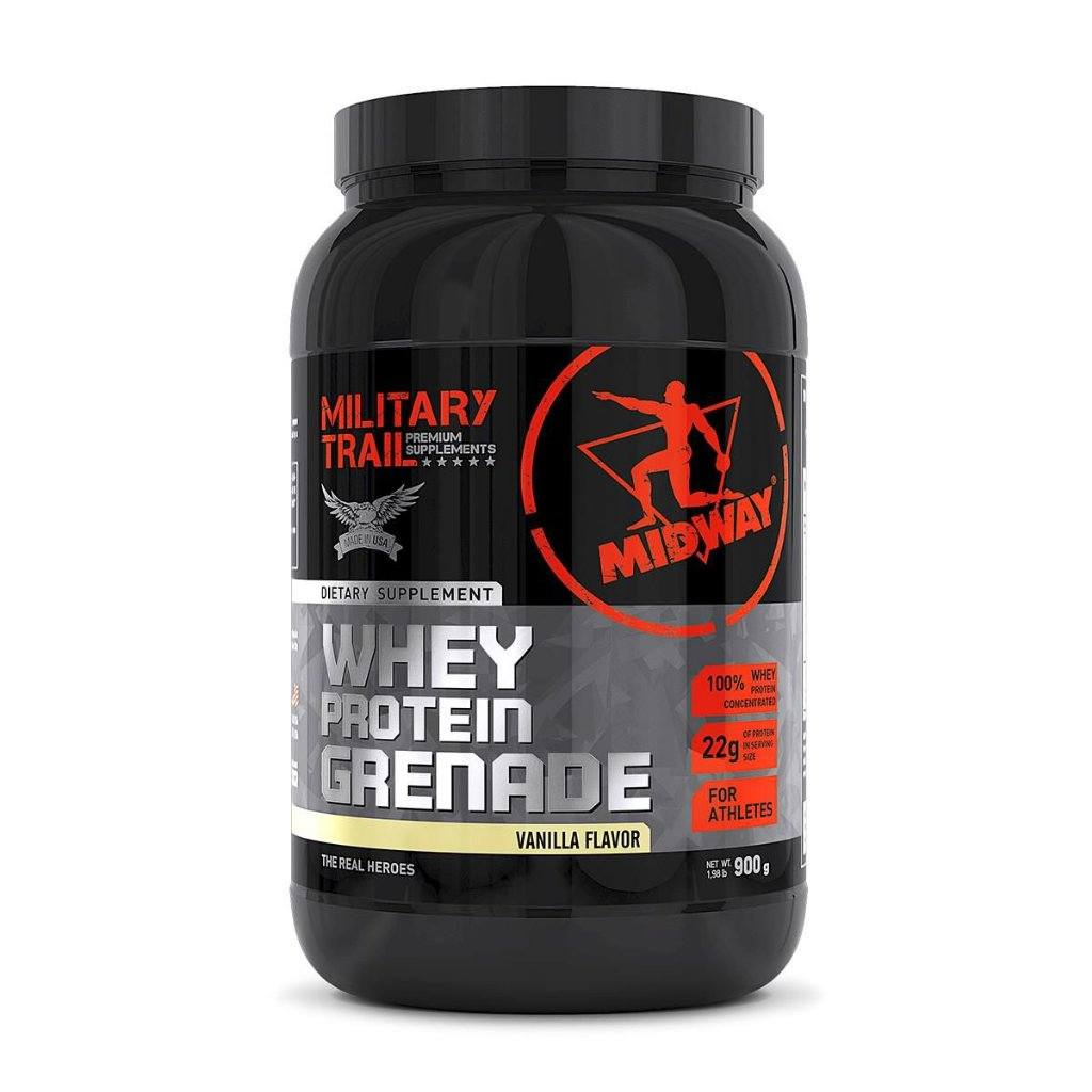 1d7a91cce Whey Protein Grenade 100% - Midway (900g) - Barato Suplementos