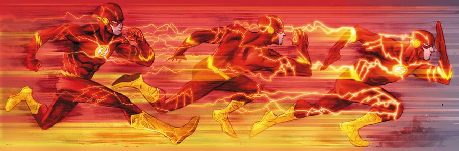 Flash- E A FORÇA DE ACELERAÇÃO