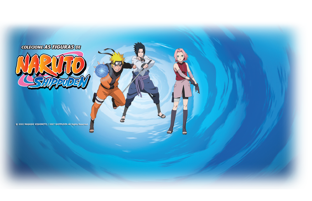 coleção action figure Naruto