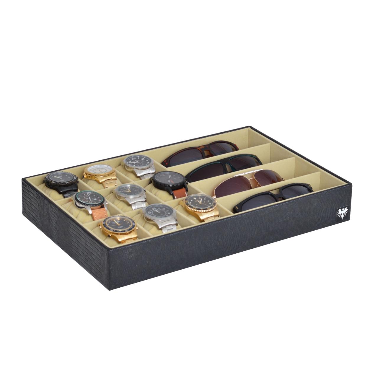 bandeja-couro-ecologico-9-relogios-4-oculos-preto-bege-porta-imagem-1.jpg