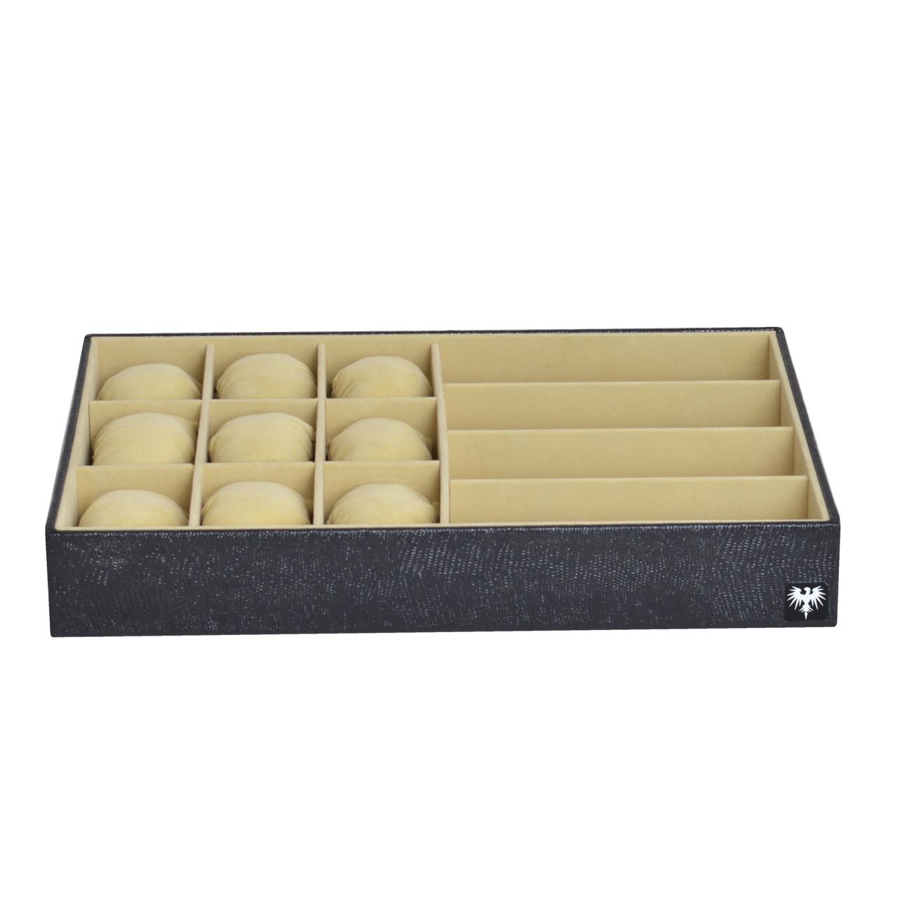bandeja-couro-ecologico-9-relogios-4-oculos-preto-bege-porta-imagem-2.jpg