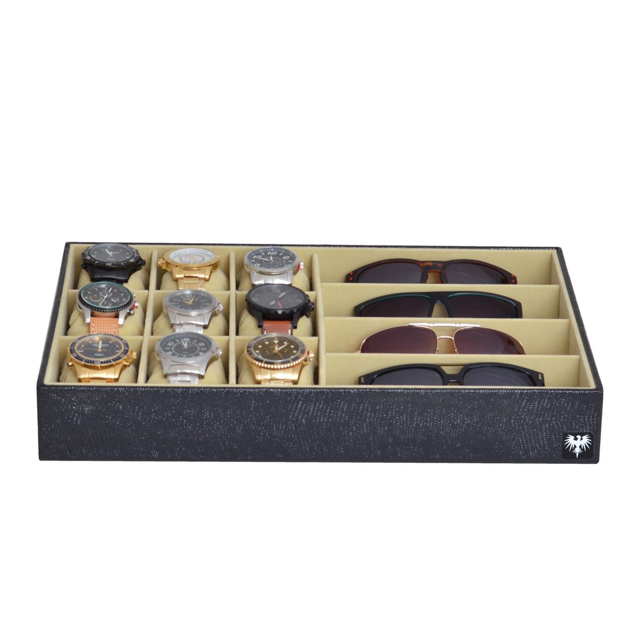 bandeja-couro-ecologico-9-relogios-4-oculos-preto-bege-porta-imagem-4.jpg
