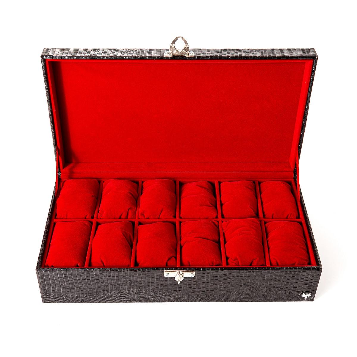 caixa-porta-relogio-12-nichos-couro-ecologico-preto-vermelho-imagem-3.jpg