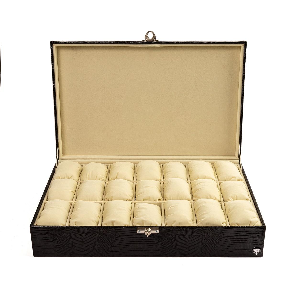 caixa-porta-relogio-21-nichos-couro-ecologico-preto-bege-imagem-2.jpg