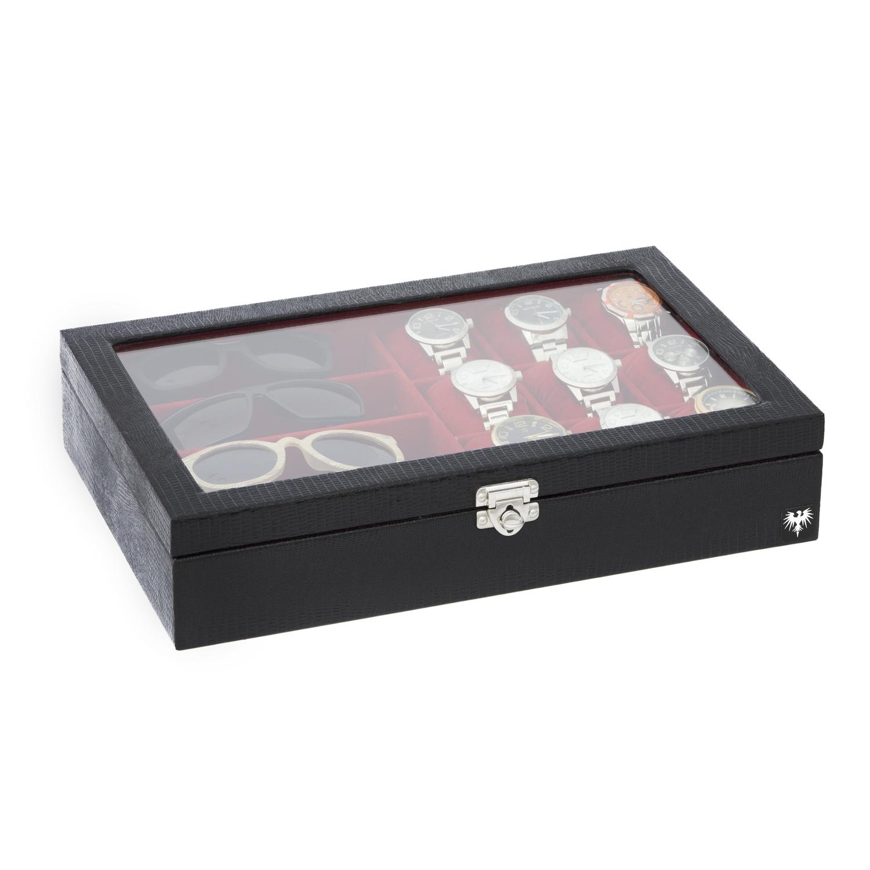 estojo-couro-9-relogios-4-oculos-preto-vermelho-porta-caixa-imagem-2.jpg