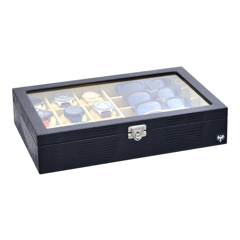 estojo-couro-eco-9-relogios-4-oculos-preto-bege-porta-caixa-imagem-3.jpg