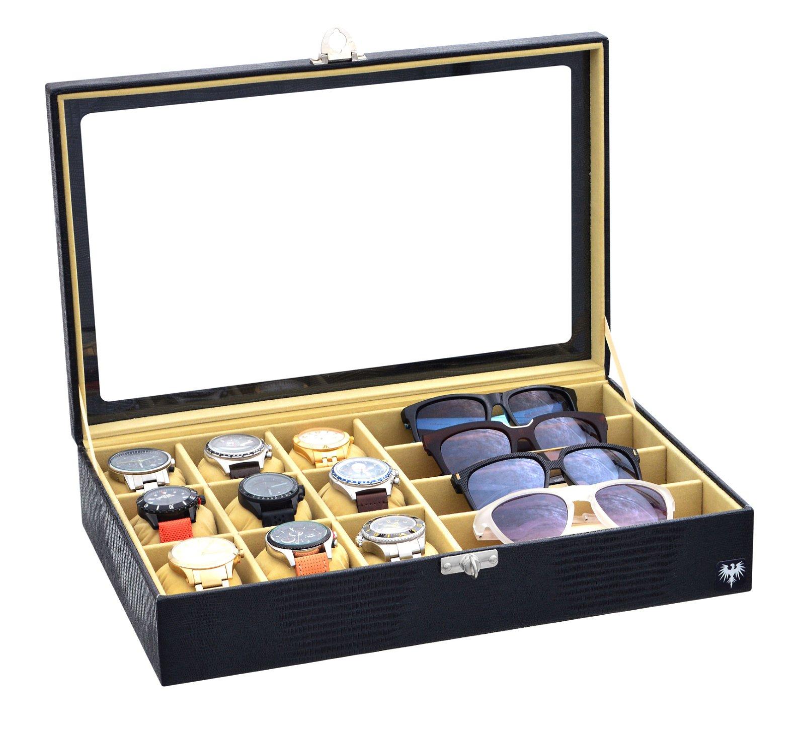 estojo-couro-eco-9-relogios-4-oculos-preto-bege-porta-caixa-imagem-4.jpg