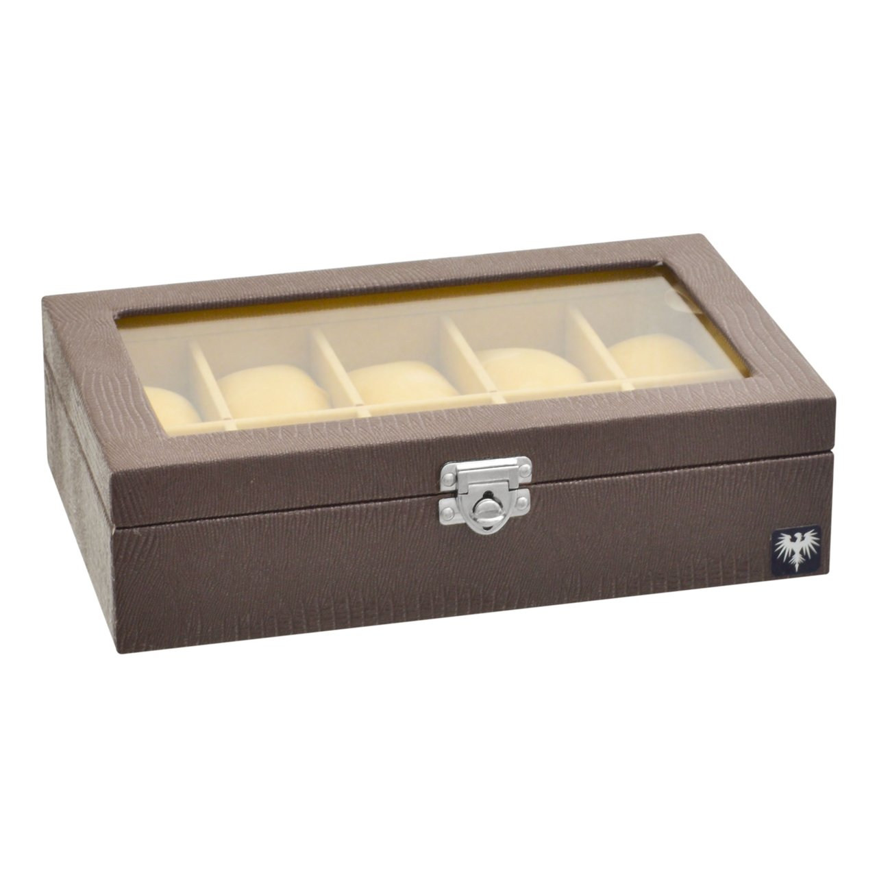 estojo-couro-ecologico-10-relogios-marrom-bege-porta-caixa-imagem-4.jpg