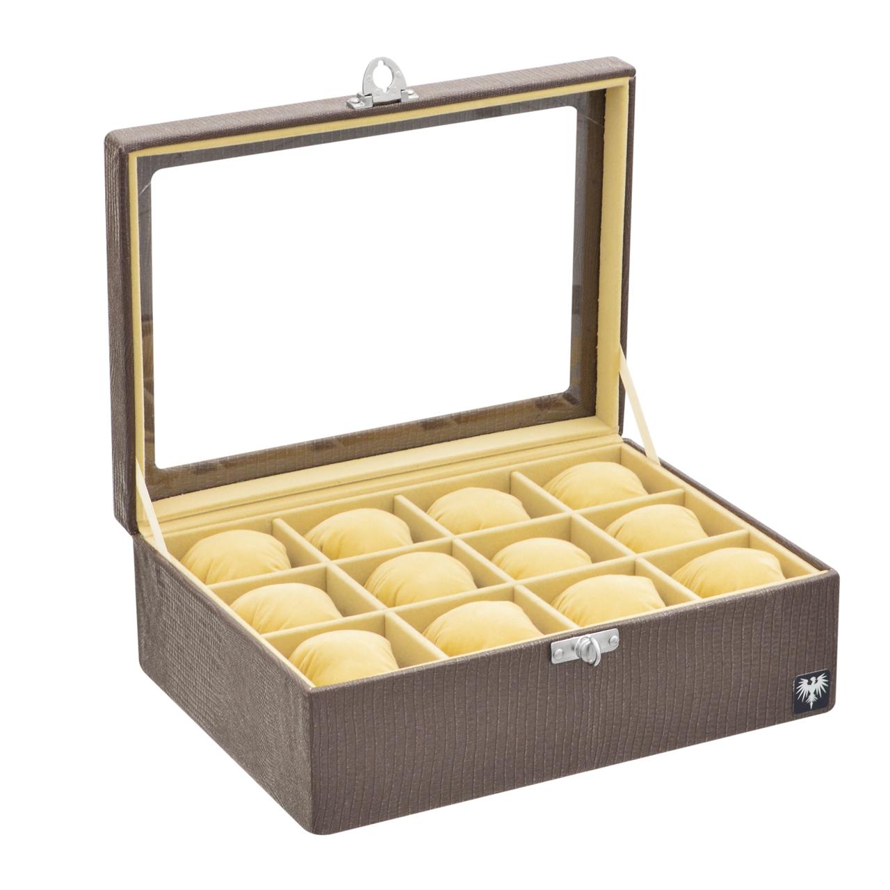 estojo-couro-ecologico-12-relogios-marrom-bege-porta-caixa-imagem-10.jpg