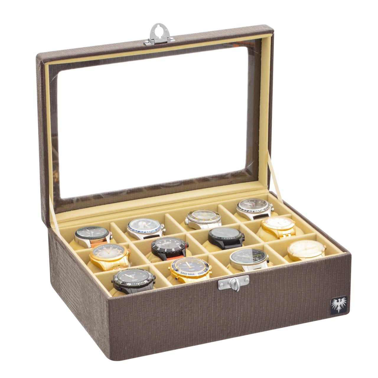 estojo-couro-ecologico-12-relogios-marrom-bege-porta-caixa-imagem-3.jpg
