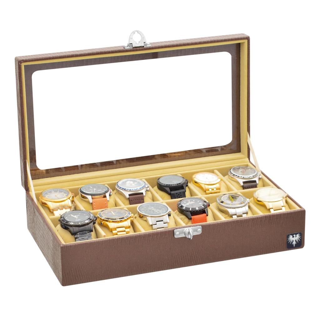 estojo-couro-ecologico-12-relogios-marrom-bege-porta-caixa-imagem-5.jpg