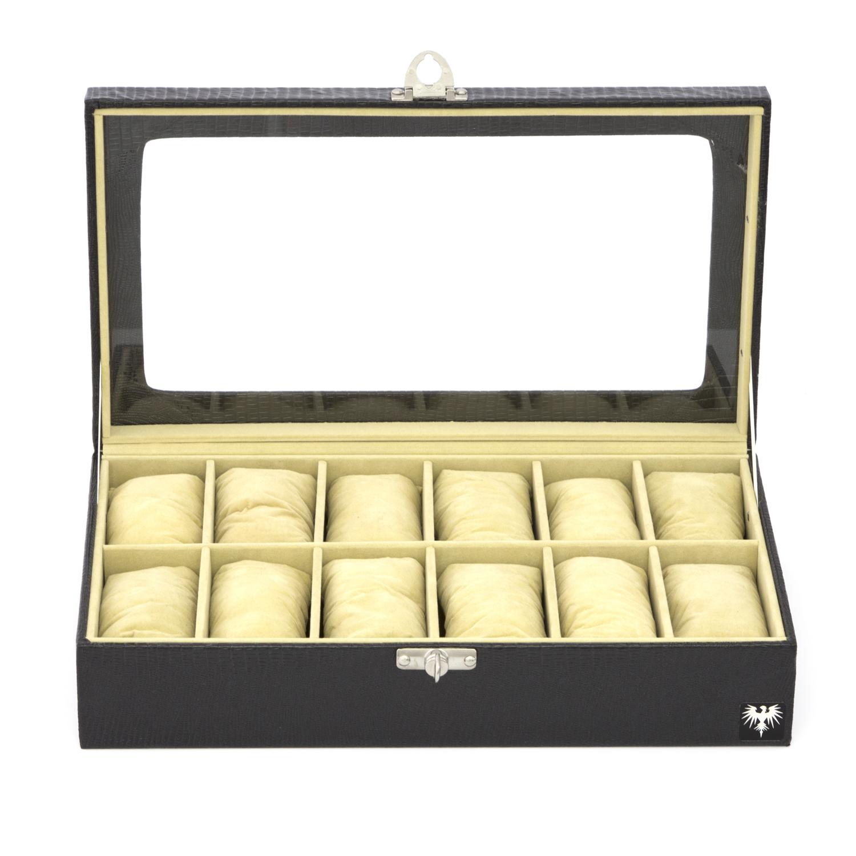 estojo-couro-ecologico-12-relogios-preto-bege-porta-caixa-imagem-5.jpg