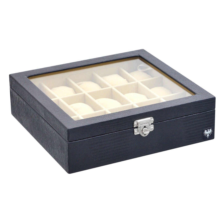 estojo-couro-ecologico-15-relogios-preto-bege-porta-caixa-imagem-5.jpg