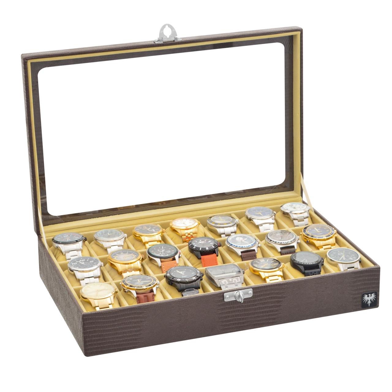 estojo-couro-ecologico-21-relogios-marrom-bege-porta-caixa-imagem-9.jpg