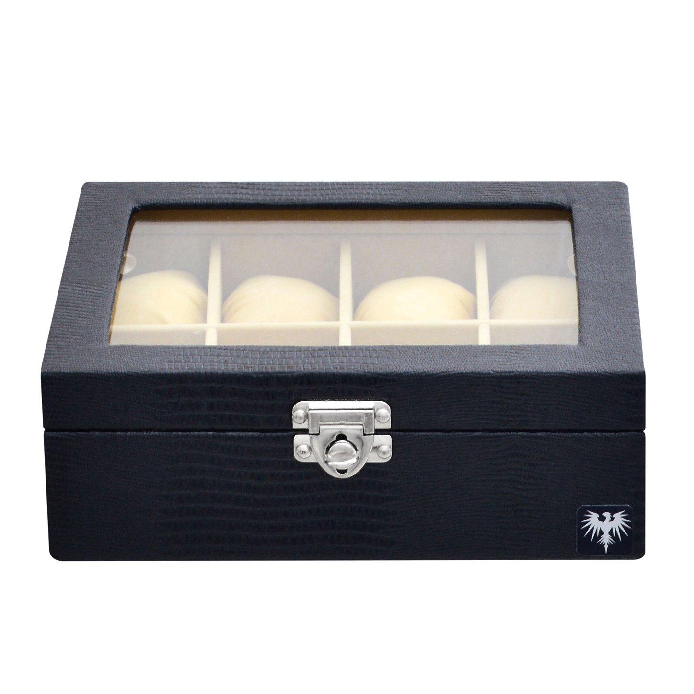 estojo-couro-ecologico-8-relogios-preto-bege-porta-caixa-imagem-6.jpg