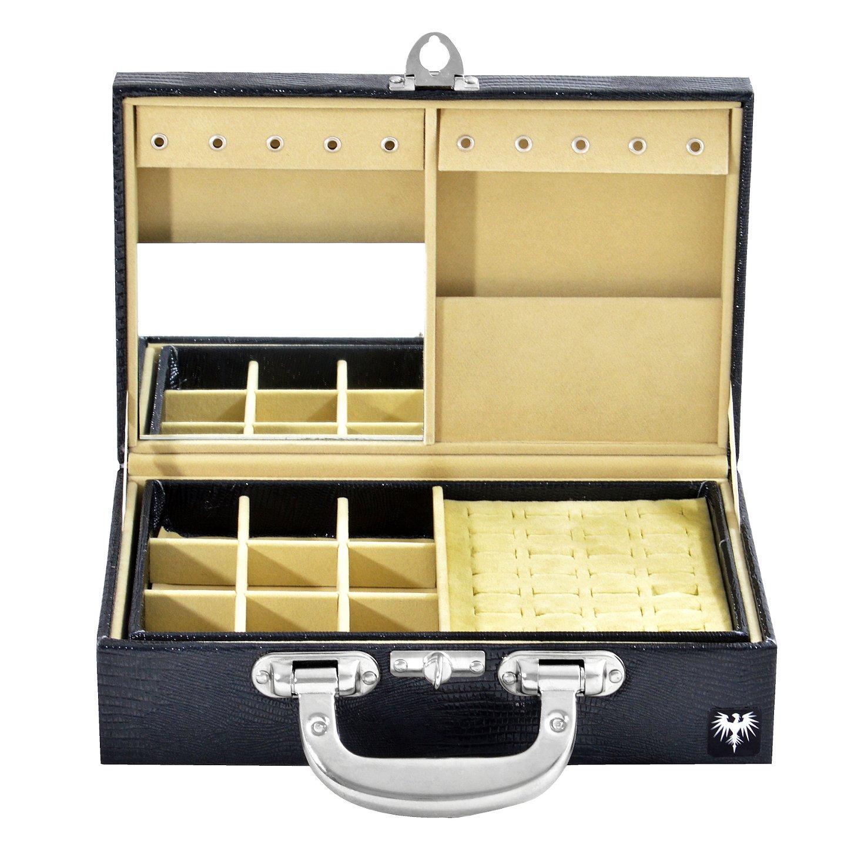 maleta-porta-joias-couro-ecologico-croco-preto-bege-imagem-3.jpg