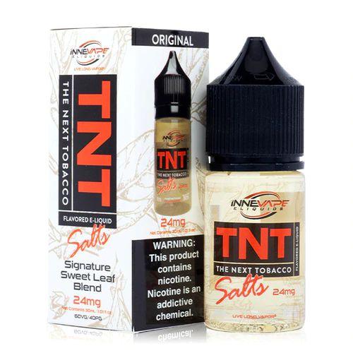 Introdução ao Líquido TNT - SaltNic / Salt Nicotine |