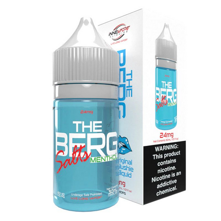 Introdução ao Líquido The Berg Menthol - SaltNic / Salt Nicotine |