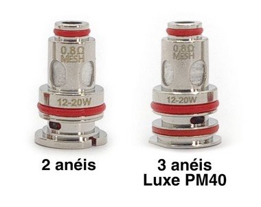 Coil (Bobina) GTX p/ Luxe PM40 - Vaporesso