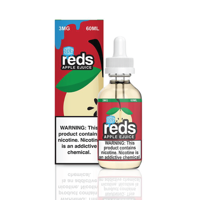 Líquido 7 DAZE - Reds Apple Ejuice - Apple ICE