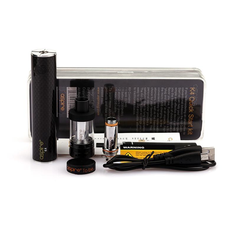 Kit Cigarro Eletrôncio K4 Aspire