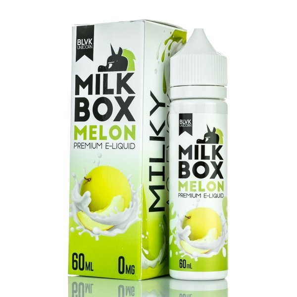 Líquido BLVK Unicorn - Milk Box - Melon