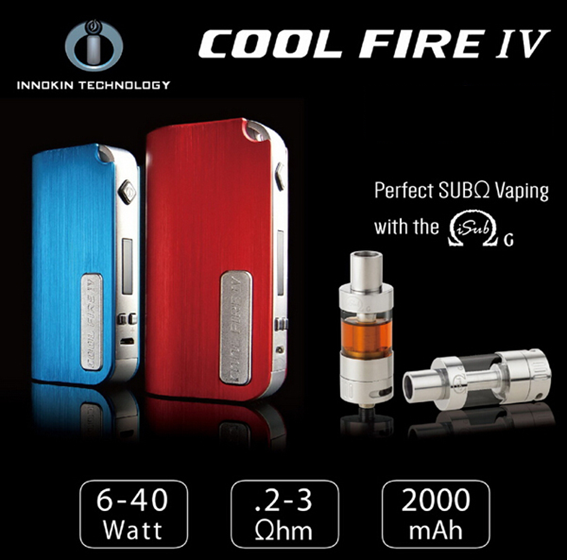 Kit Cool Fire IV |iSub Tank| - Innokin